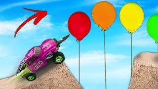 RC Car Sharp Bumper Mod Jump!! (SUPER RARE)