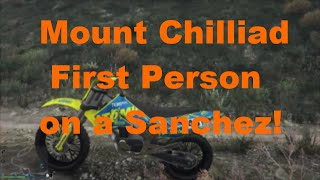 Climbing Mount Chilliad in First Person!!! (GTA 5)