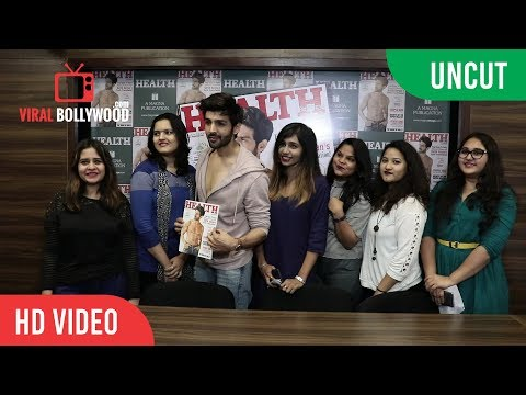 UNCUT - Kartik Aaryan | The Cover Boy of Health And Nutrition Magazine's
