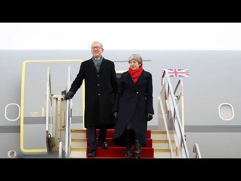 British PM Theresa May arrives in China on official visit
