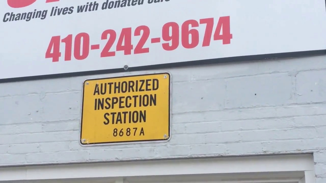 What To Expect When You Get A Maryland State Auto Inspection Youtube