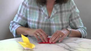 How To Make An Origami Dove.m4v
