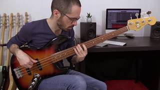 Fretless Bass Improvisation Fender Jazz Bass Jaco Pastorius