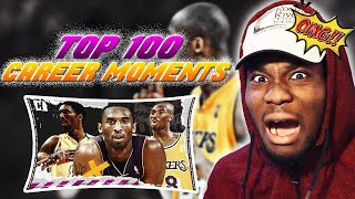 Kobe Bryants BEST 100 Plays & Moments Of His NBA Career {Reaction}