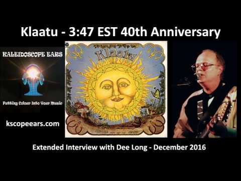 Dee Long Extended Interview for the 40th Anniversary of 3:47 EST by Klaatu