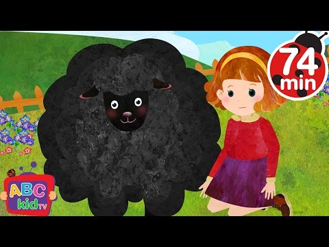 Baa Baa Black Sheep and More Nursery Rhymes & Kids Songs - ABCkidTV