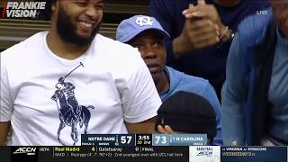 Cole Anthony 34 Pts 11 Rebs 5 Ast in UNC Debut vs Notre Dame
