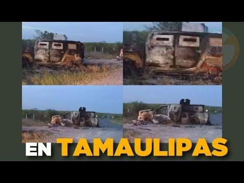"Traían ""Monstruos"" #Tamaulipas"