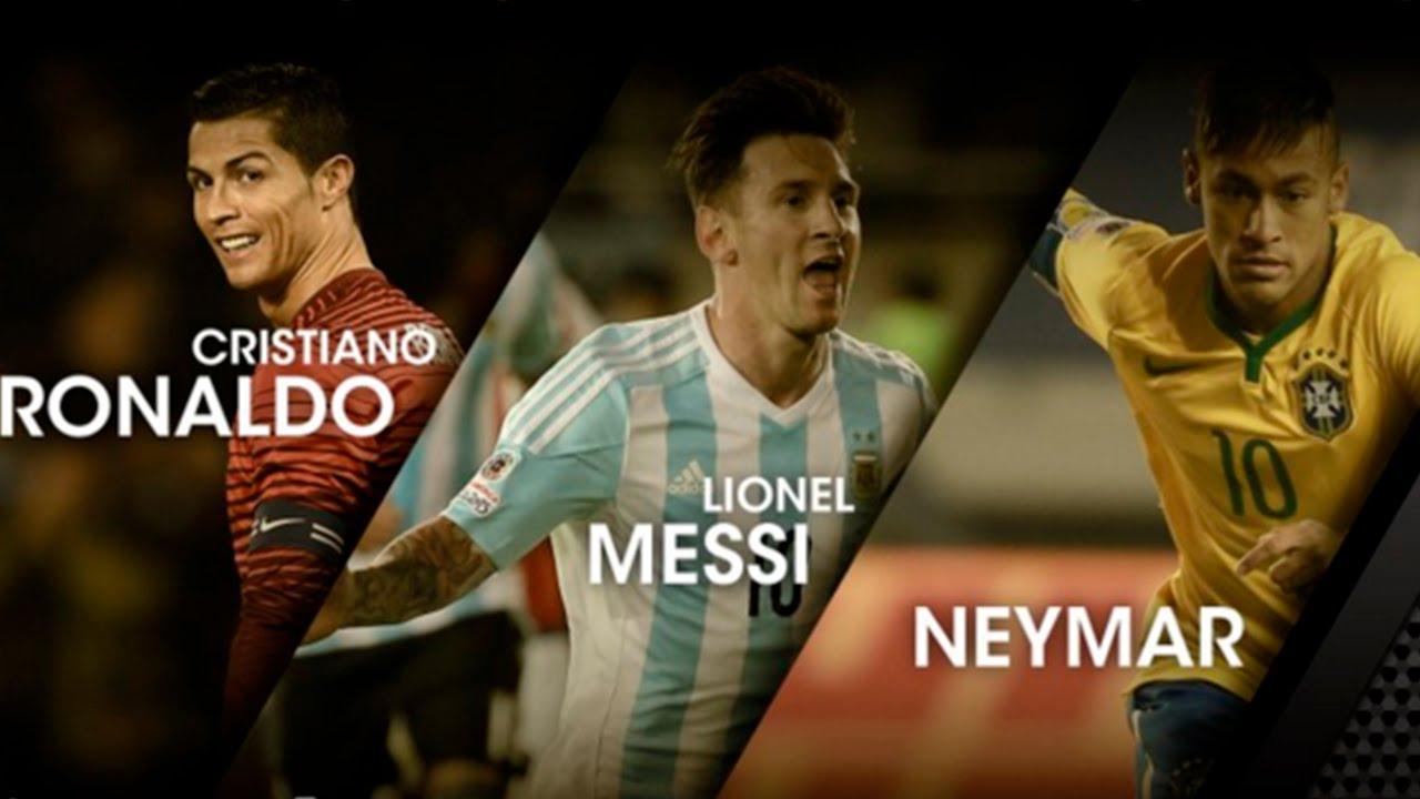 Balón de Oro 2015: Cristiano Ronaldo VS Messi VS Neymar Jr ...