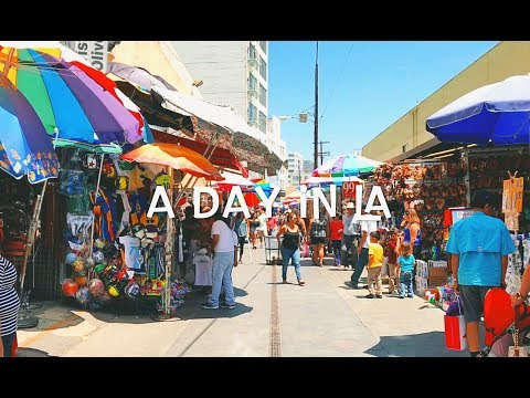 VLOG: A Day in Downtown Los Angeles//The Santee Alley// Popsikle Shop Sunglass Haul