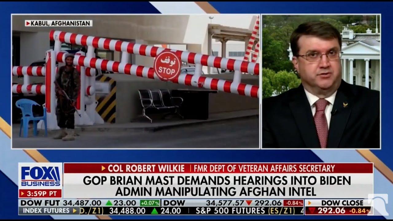 "Blinken's Defense of Afghanistan Mess ""Disturbing, Irresponsible""  | Sec. Wilkie on Fox Business"