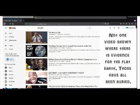 GOOGLE Is HIDING FLAT EARTH VIDEOS!!! thumbnail
