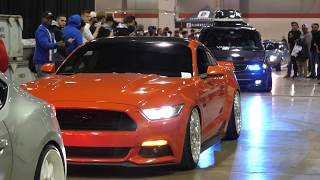 Cars Leaving Tuner Galleria 2018 Car Show Roll Out Video