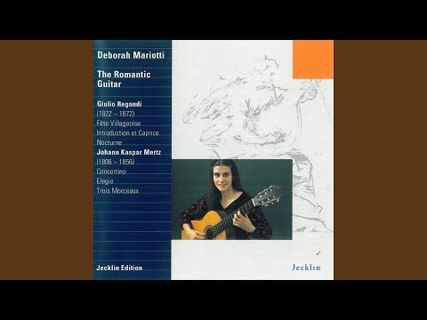 Trois Morceaux, Op. 65: No. 1, Le Gondolier
