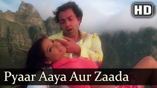 Pyaar Aaya Aur Zyada | Barsaat (2005) | Bobby Deol | Bipasha Basu | Filmigaane