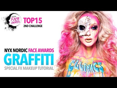 NYX Nordic Face Awards Top 15 Challenge - Graffiti