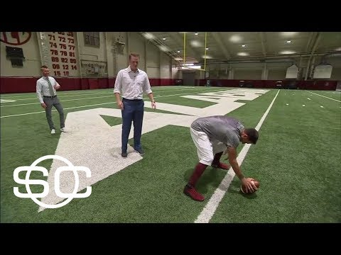 Former Alabama QB Greg McElroy talks Jalen Hurts and Alabama season | SportsCenter | ESPN