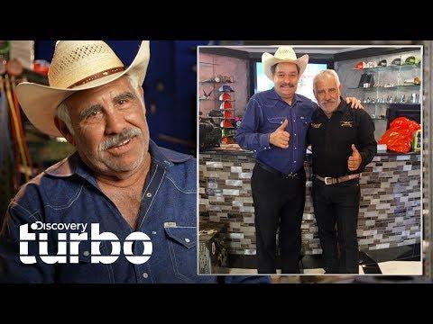 ¡Raúl Méndez Recibe A Martín Vaca En Su Taller!   Texas Trocas   Discovery Turbo