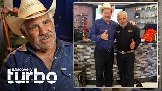 ¡Raúl Méndez recibe a Martín Vaca en su taller! | Texas Trocas | Discovery Turbo