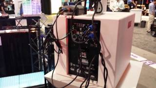 Hyper audio and video new line array system