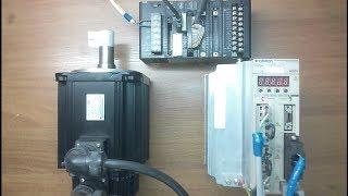 Управление сервоприводом от ПЛК Omron CJ1M. Импульсные входы/выходы