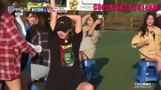 [中字]Idol School Ep10 賓荷娜優雅地玩爭椅子遊戲