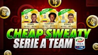 Serie a team fifa 16