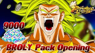 9000 Zeitkristalle/Chrono Crystals BROLY Opening Summons! ;D Riesen Opening in Dragon Ball Legends!
