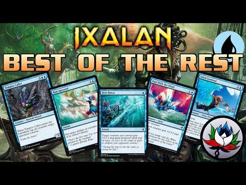 Ixalan Spoilers: Best of the Rest Set Review – Part 2: Blue!