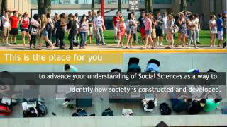 Welcome to the Faculty of Social Sciences