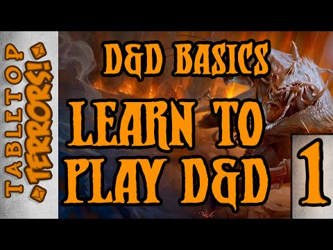 Learn to Play D&D - D&D Basics -  Part 1 -  For Absolute Beginners