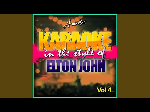 Don't Go Breaking My Heart (In The Style Of Elton John And Kiki Dee) (Instrumental Version)