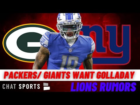 Today's Lions Rumors: Green Bay Packers & New York Giants Could Pursue Kenny Golladay In Free Agency