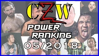 CZW - May 2018 Power Ranking