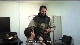 Richard Armitage - funny moment :3