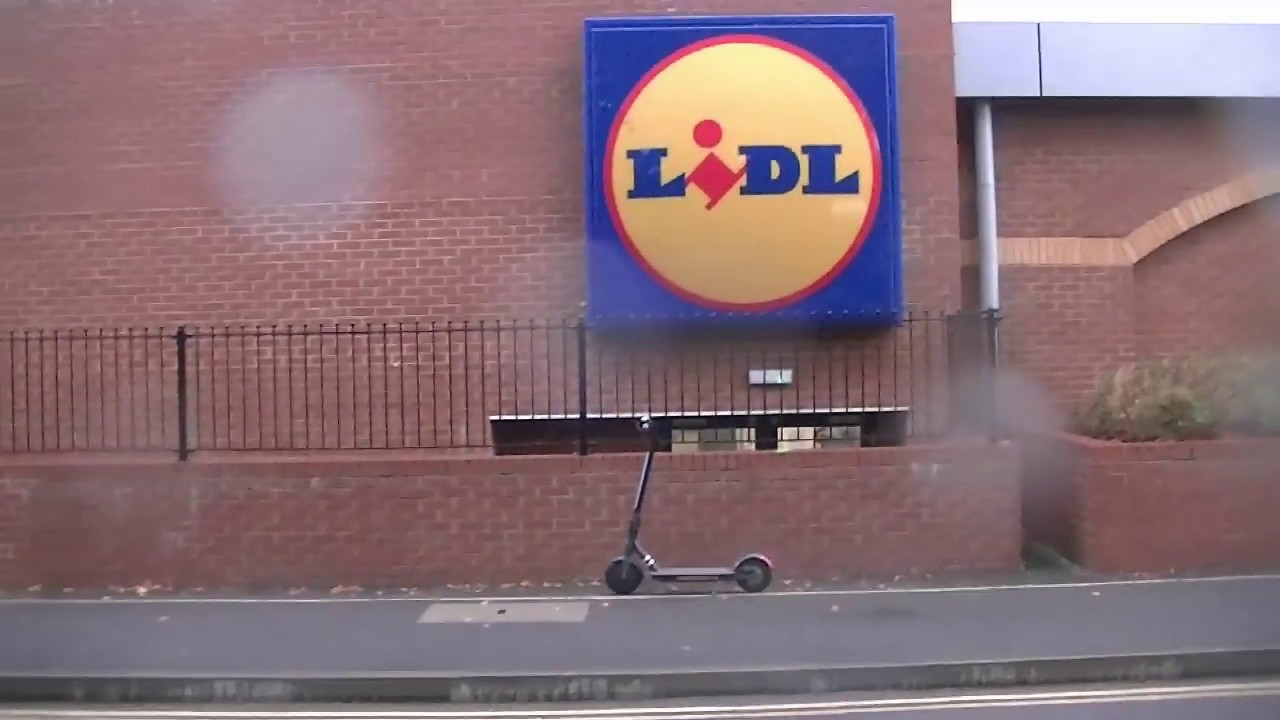 Download lidl   electric scooter doc green ESA 5000  test ride