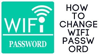 How to change edimax wifi password