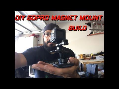 GoPro magnetic mount build...…..