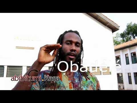 "#3 Do you speak Afrikan? How to say ""Uhuru!"" and Ọbádélé"