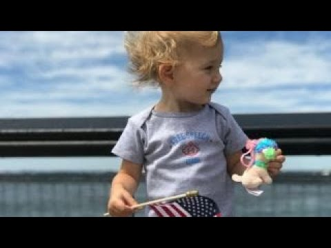 ACLU attacked online over photo of white baby with US flag