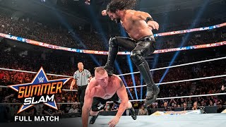 FULL MATCH: Brock Lesnar vs. Seth Rollins - Universal Title Match: SummerSlam 2019