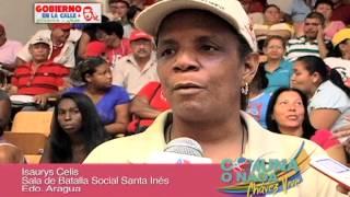 GDC, Aragua  Encuentro del Plan Comuna o Nada Sector Santa Inés, Parroquia Santa Rita