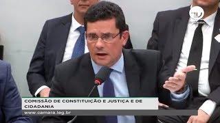 Constituição e Justiça - Sérgio Moro fala sobre mensagens da Lava Jato - 02/07/2019 - 14:16