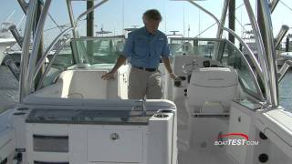 Glacier Bay 2740 features review by BoatTest.com