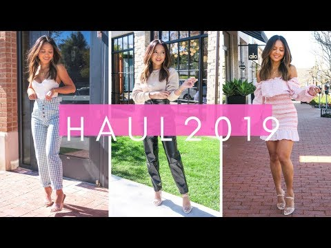 Try-On Haul February 2019 | Revolve, Asos, Pretty Little Thing, In The Style