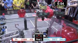 Vex Robotics Toss Up World Championship Math Division Final 1