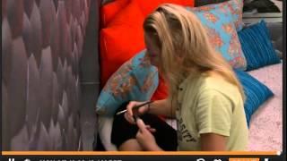 Liz Practicing Her Veto Speech With Julia #bb17 #bblf