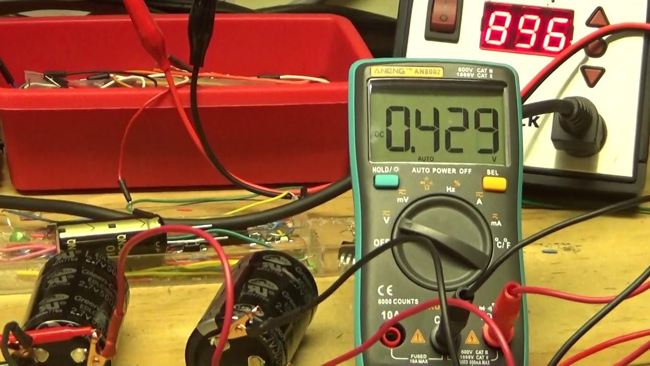 Super Capacitor Balancing Board/TL431 Shunt Regulator/TIP120