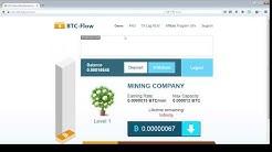 (UPDATE Dec. 2017) BTC-Flow Is it a Scam? Bitcoin Faucet
