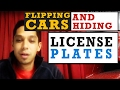 Flipping Cars for Profit? Why do you cover up the license plate number?